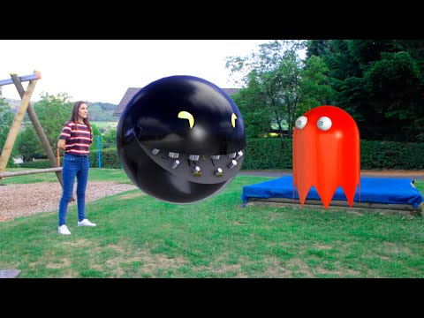 Pacman 3d Ghosts Real Life