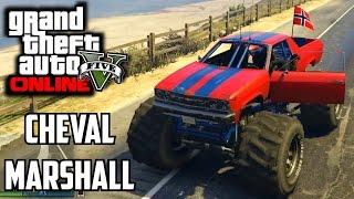 GTA 5 PS4 - Cheval Marshall (Monster Truck) Car Showcase