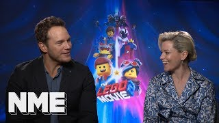 Chris Pratt and Elizabeth Banks talk TOWIE, how minifigs smell, and