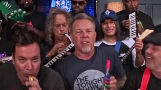 Jimmy Fallon - Metallica - Motorbreath