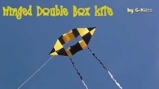 Winged Double Box Kite From G-kites