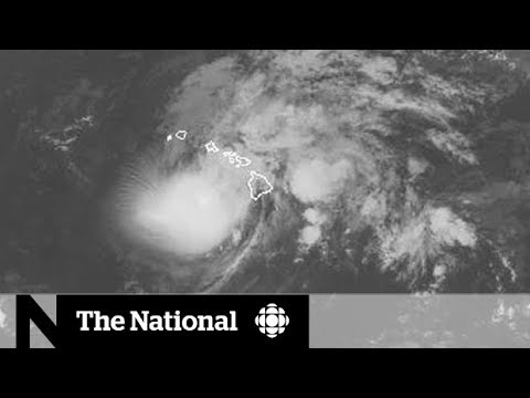 Hurricane Lane downgraded, Canadians still stuck in Hawaii