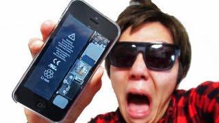 iPhone5がぶっ壊れて中身丸見え!iPhone5 Broke !? thumbnail