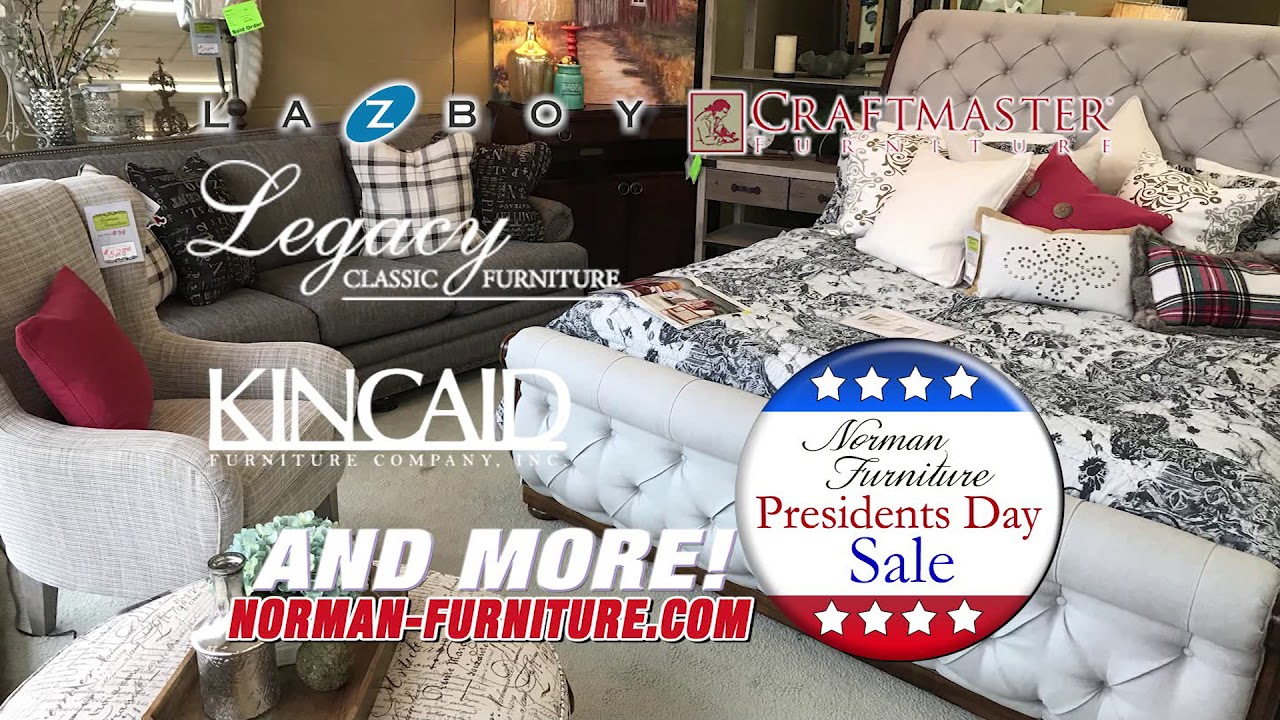 Norman Furniture Presidents Day Sale 2018