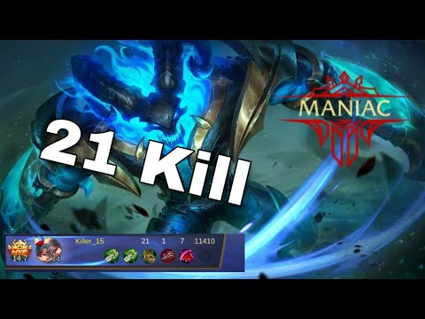 Thamuz Gameplay 1 Maniac 21kill Tagalog Mobile Legend Bang