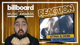 REAÇÃO || Christina Aguilera & Demi Lovato @ Billboard Music Awards 2018 - Fall In Line