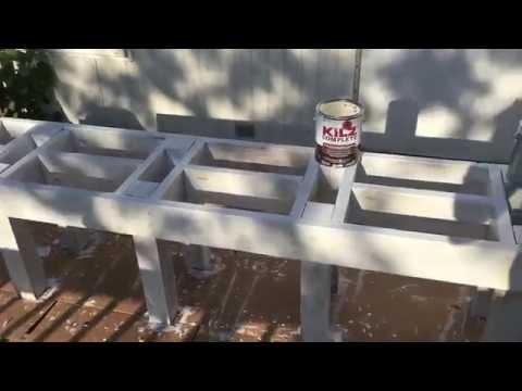 DIY: Bee Hive Stand