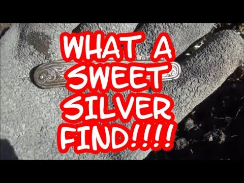 WHAT A SWEET SILVER FIND #93 DRAMA IN THE DIRT-METAL DETECTNG