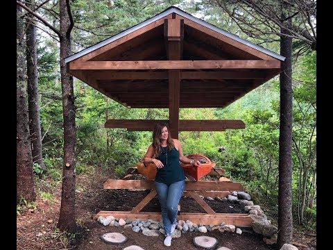 DIY Summer Project: Canoe and Kayak Rack