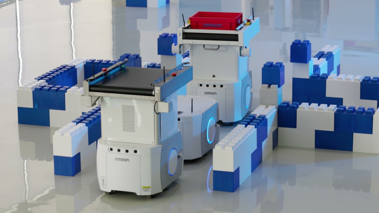 OMRON LD-60/90 Mobile Robots with Flexible Box Navigation