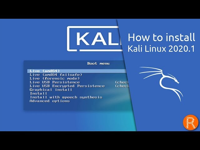 How to install Kali Linux 2020.1