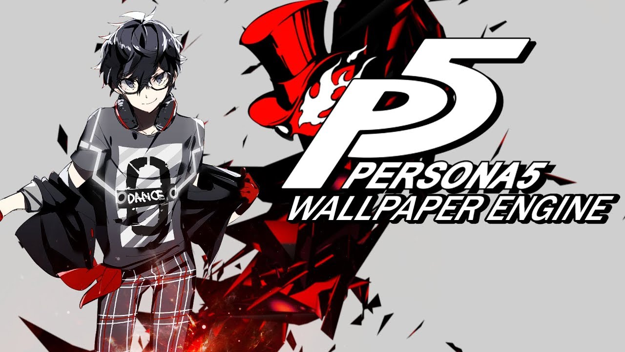 Persona 5 Wallpaper Engine Demo - YouTube