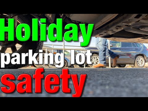 Holiday parking lot safety