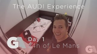 homepage tile video photo for 24 Hours of Le Mans with the Audi Experience - Day 1 (Friday)...