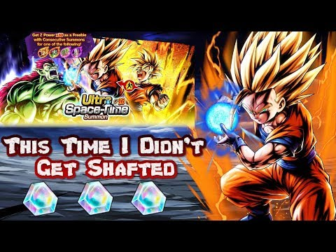 BEST SUMMONS EVER!!!! | This Time I Did NOT Get Shafted | Dragon Ball Legends | Gohan/Bojack Summons