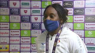 +78 kg: Romane DICKO (FRA) at Doha Masters 2021