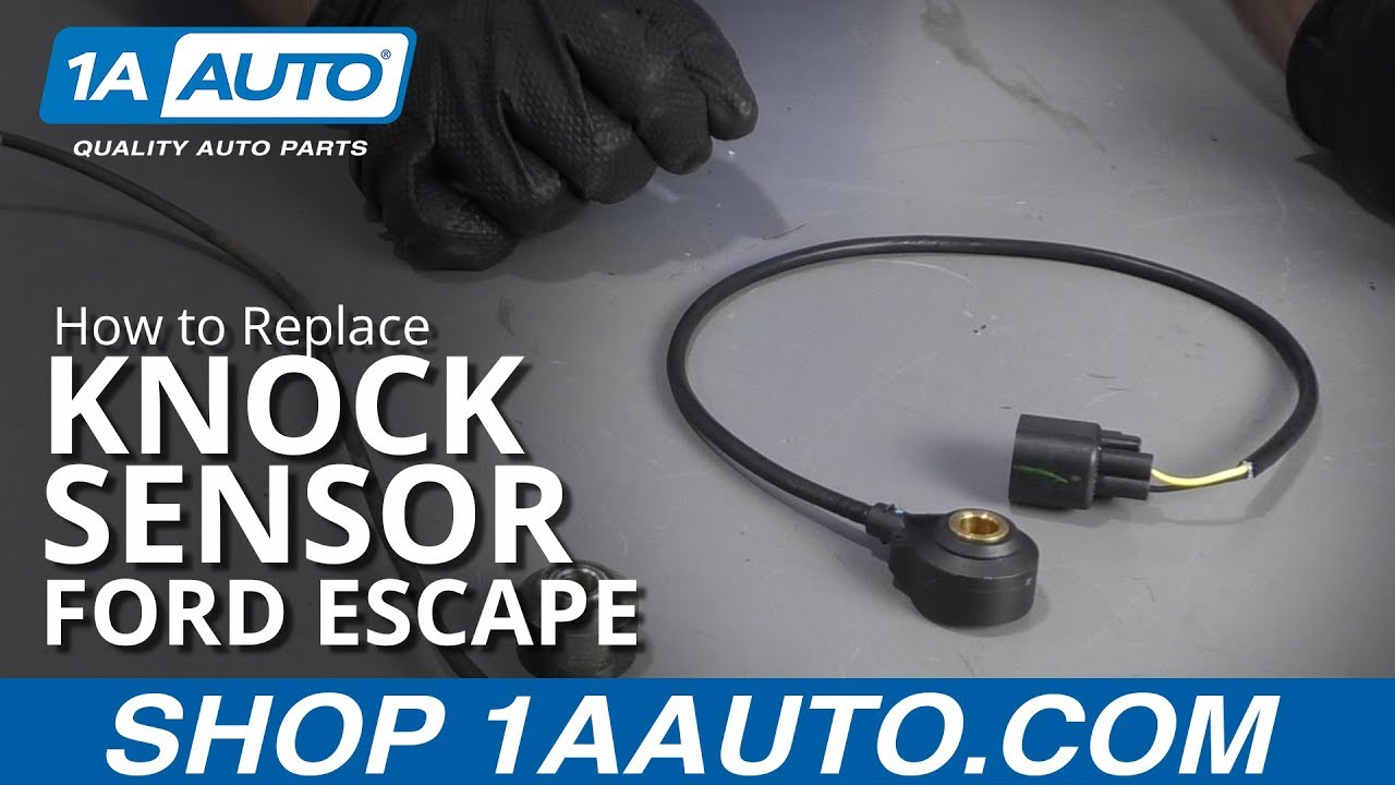 [DHAV_9290]  How to Replace Knock Sensor 09-12 Ford Escape - YouTube | Ford Knock Sensor Wiring |  | YouTube