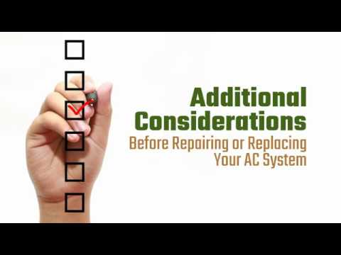 Additional Considerations for Repairing or Replacing Your AC