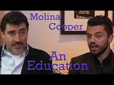 DP/30 @TIFF: An Education, Alfred Molina, Dominic Cooper (2009)