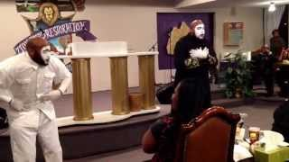 "Double Anointed Mime Ministry ""No Gray by Jonathan McReynolds"