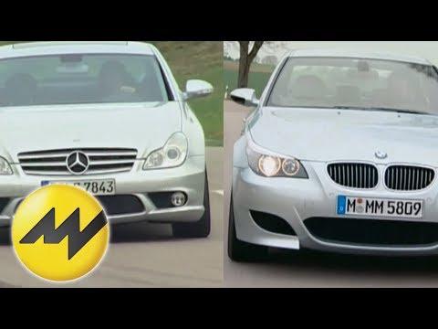 vergleich-bmw-m5-vs.-mercedes-cls-55-amg:-duell-der-power-limousinen