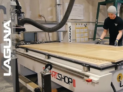 Laguna Tools features Winterwood Cabinetry - The Impact of a SmartShop  Router - CNC Machine