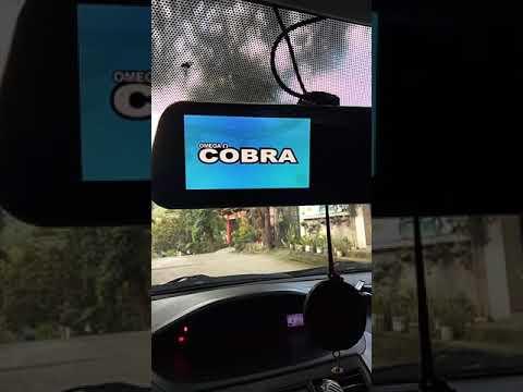 Cobra Rear View Dashcam Review ( Tagalog )