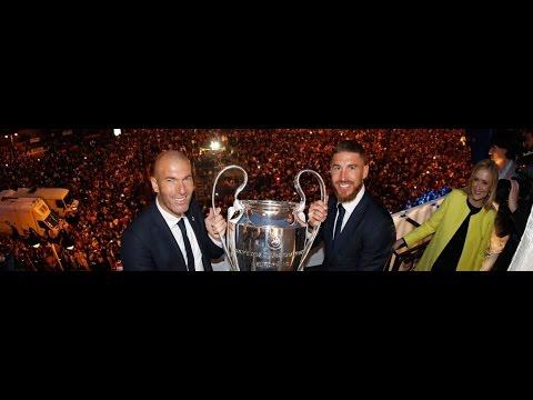 Real Madrid presented la Undécima to the madridistas