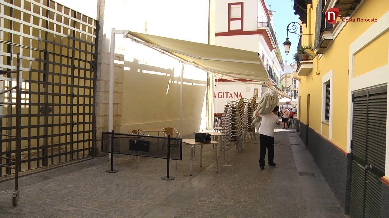 Noticias ayuntamiento apysan y hosteleros acuerdan la for Colocacion de toldos
