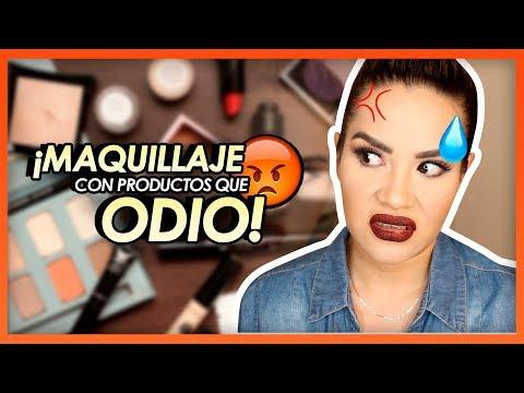 Maquillaje con PRODUCTOS QUE ODIO  ! | Mytzi Cervantes