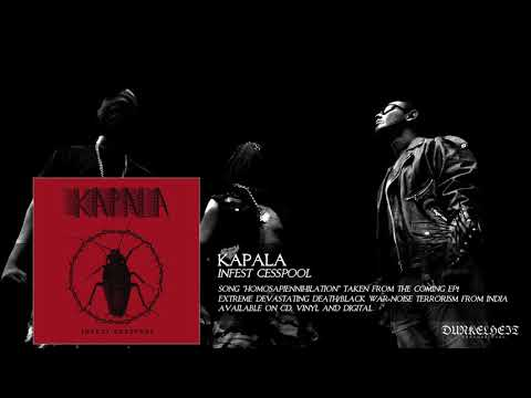Kapala - Homosapiennihilation (Extreme and Devastating Death/Black War-Noise from India)