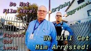 Slandered & Discriminated By Deputy Who Got Caught Redhanded Conspiring Against Me-1 Amendment Audit