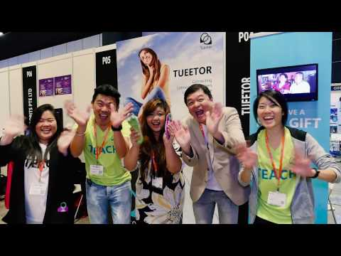 Tueetor at EduTech Asia Convention 2016