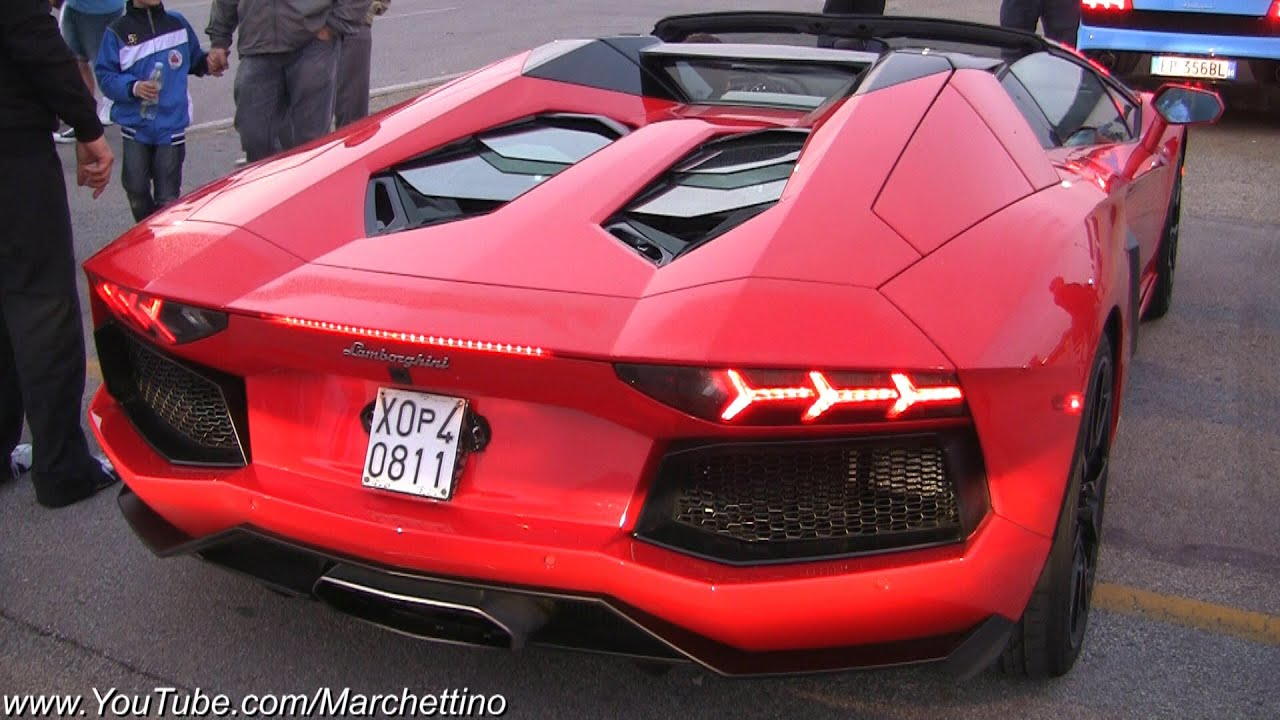 The Ultimate Lamborghini Aventador Sounds