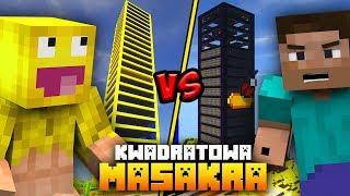 KWADRATOWA MASAKRA: Otworzyłem NAJWYŻSZY wieżowiec na serwerze!