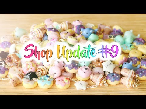 Shop Update #9│Polymer Clay Charms