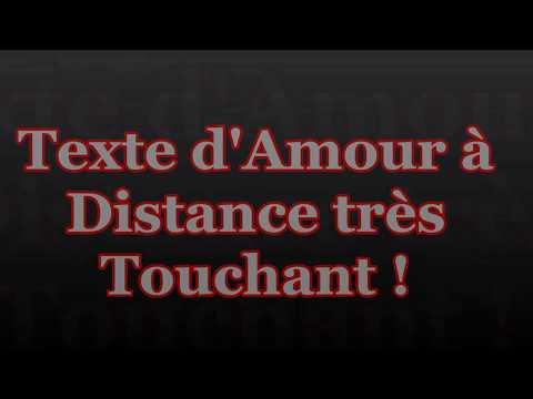 Texte d'Amour à distance Touchant !  #Lettre_d'Amour