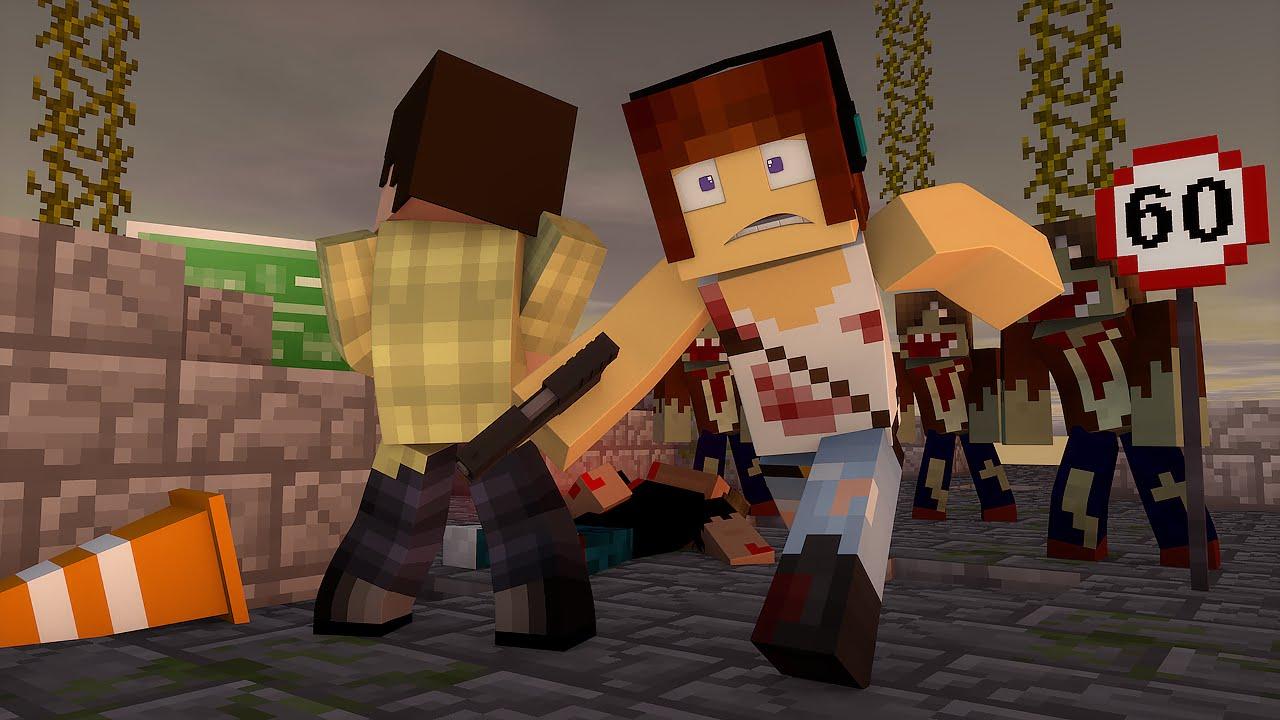Minecraft steve comendo a amiguinha
