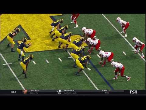 Karan Higdon to the House vs. Nebraska   Michigan   Big Ten Football