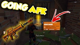 Going AFK while Trading My GRAVE DIGGER! | *SCARY* Experiment | Fortnite Save The World