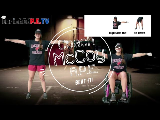 Coach McCoy- A.P.E.: Beat It! (Standing & Seated)