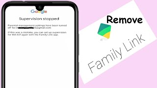 How To Remove/Delete/Uninstall Family Link From Google Account in Android @HelpingMind screenshot 3