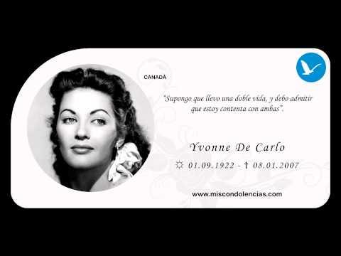 Homenaje a Yvonne De Carlo