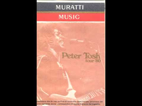 Peter Tosh [Live at Castel Sant'Angelo, Rome, Italy 1980 Full Audio]