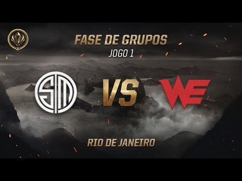 TSM x World Elite (Fase de Grupos - Jogo 6 - Dia 1) - MSI 2017