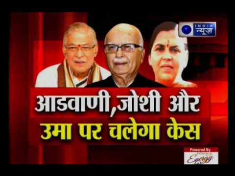 Babri case: SC revive charges on 13 Ministers including Lal Krishna Advani; SC sets 2-year deadline