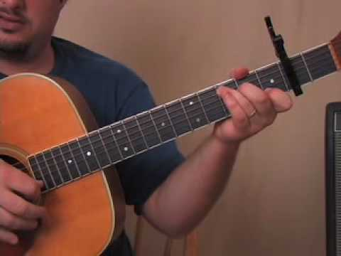 Beatles - Norwegian Wood - How to Play on Acoustic Guitar Lessons