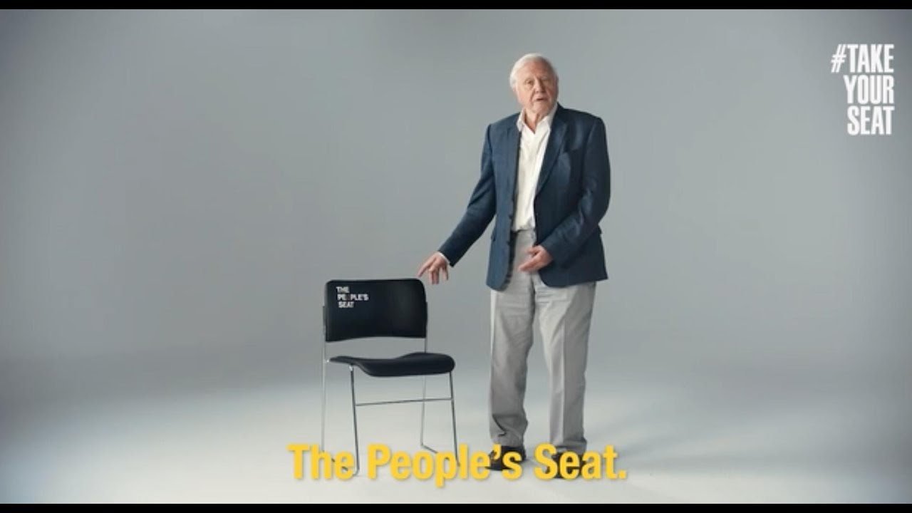 The People's Seat: Speak up on climate change #TakeYourSeat