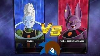 Dragon Ball Xenoverse 2: Vados & Champa Gameplay! DLC DB Super Pack 2 - Johnic Adventure