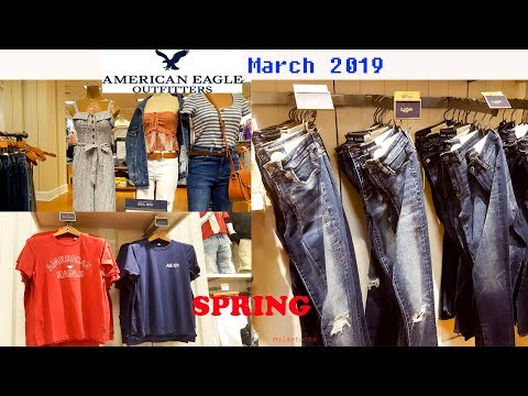 AMERICAN EAGLE Men And Women's SPRING SUMMER 2019